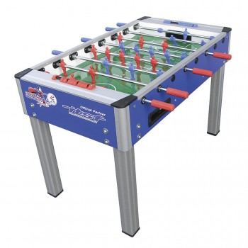 College Pro Blue Foosball Table