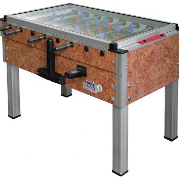Export Brown Marble Coin Operated Foosball Table