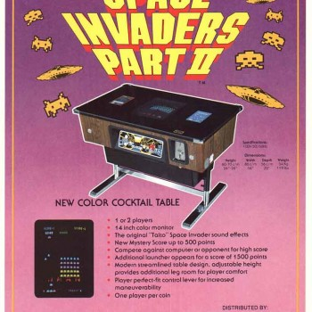 Space Invaders Games for Pubs and Clubs